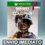 Call Of Duty Black Ops Cold War - Xbox One Código 25 Dígitos Original
