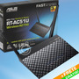 Roteador Wireless Asus Rt-ac51u Ac750 Usb 3g 4g Com Frete