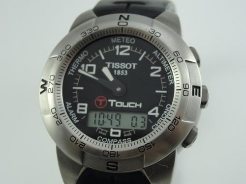 8008ec57b16 Relógio Tissot T-touch Titanium - Swiss Made - Original - R  1350 en ...