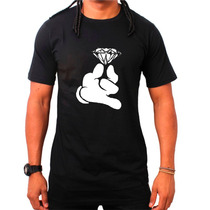 Camiseta Crooks And Castle Mickey Hands Diamond Canguru Dope