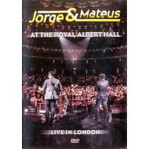 Jorge & Mateus At The Royal Albert Hall Dvd Orig Novo Lacrad