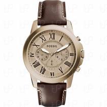 Relógio Masculino Fossil Grant - Fs5107 ( Nota Fiscal )