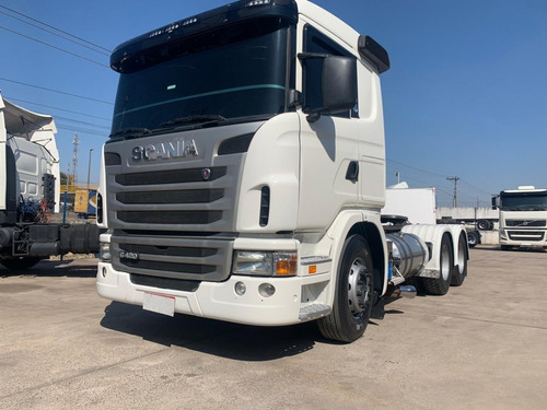 SCANIA G420 6X4 BUG LEVE 2011 OPTICRUISER/ N R440 FH440 AXOR