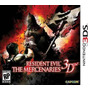 Resident Evil 3d - The Mercenaries - 3ds