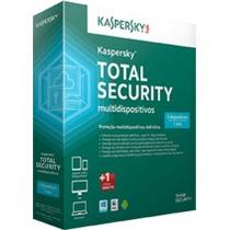 Kaspersky Total Security Multidispositivos 2016 3 Pcs 2 Anos