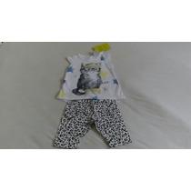 Roupas Infantil Conjunto Blusinha E Shorts Da Malwee