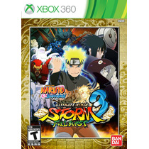 Jogo Naruto: Ultimate Ninja Storm 3 Full Burst Xbox 360 Ntsc