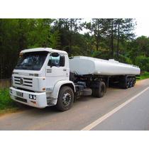 Cavalo Vw 18-310 Com Carreta Para Transporte De Água 30m³