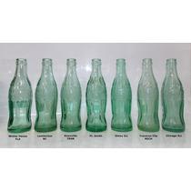 Coca-cola Garrafas Históricas Cidades P/ Coleção