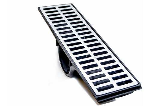 Ralo Coletor Água Grelha Alumínio Fundido 15x100
