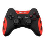 Controle Joystick Knup Kp-4032 Vermelho