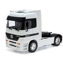 Caminhão Mercedes Benz Actros 1:32 Welly 32280-branco