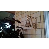 Sino De Bronze C/suporte Pintado De Dourado 1 Kilo