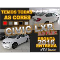 Civic Lxr 2.0 Automatico - Zero Km -16/16 - Pronta Entrega