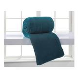 Cobertor Corttex Home Design Casal Azul-adriático Lisa