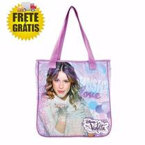 Bolsa De Ombro Violetta Disney Violetta Music Frete Gratist