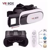 Vr Box 2.0 Óculos Realidade Virtual 3d Android Com Controle