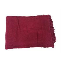 Colcha De Chenille Trindade Casal Vermelha Sc10832