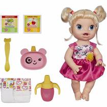 Boneca Baby Alive Loira Hora De Comer Hasbro Parc S/juros