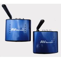 Transmissor E Receptor De Áudio E Vídeo Wireless Wifi 5.8ghz