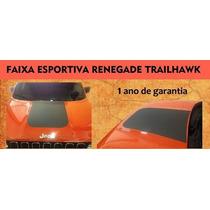 Faixa Esportiva Capô Jeep Renegade - 1 Ano Garantia