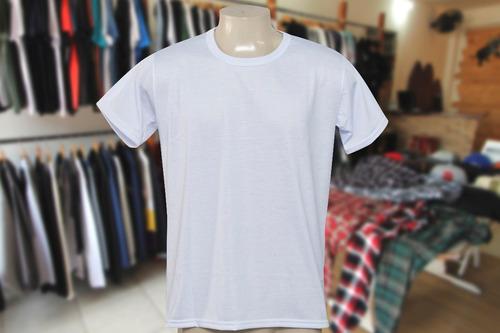 e54989143a Camisa Adulto Para Sublimação- 100% Poliéster- Lote 20 Peças