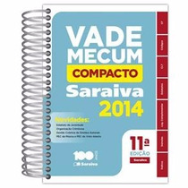 Vade Mecum Saraiva Compacto Espiral 11ª Ed. 2014