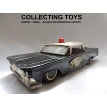 Brinquedo Antigo - Carro De Lata Polícia - Bonzo - Brasil