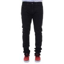 Calça Masculina Rip Curl Jeans Straight Fit Black