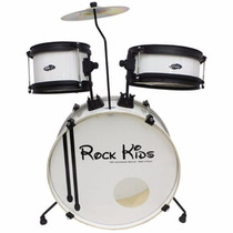 Bateria Infantil Rmv Rock Kids 2 Completa Loja Kadu Som