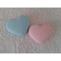 Sabonete Artesanal Mini Coração Pacote Com 50 Unidades