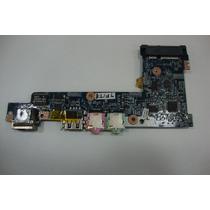 Placa Usb Audio E Rj-45 Netbook Acer Aspire One 532h Nav50