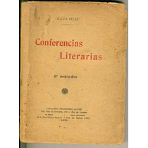 Conferencias Literárias - Olavo Bilac - Frete Gratis