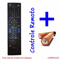 Controle Remoto Tv Lcd Philco Ph32m Ph42m *novo*c/pilhas