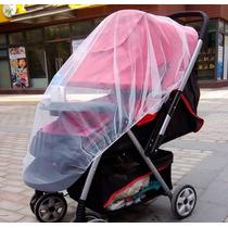 Mosquiteiro Para Carrinho Bebê Tela Rede