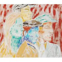 Pintura Óleo Sobre Tela - Retrato - Tiago Sinhor