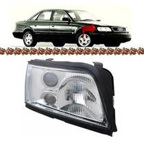 Farol Audi A6 Lado Direito Com Auxiliar 1994 1995 1996