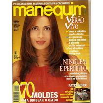 419 Rvt- 1995 Revista Manequim- 422 Fev Isadora Ribeiro Moda