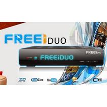 Recpt Freei Duo Hd Free Pronta Entrega Atualizado Configurad