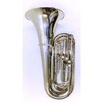 Tuba Bombardão Weril J681 Reduzida Em C (do) 4 Pistos - 1712