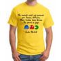 Camiseta Camisa Evangélica Gospel Cristã Versículo Use Fé