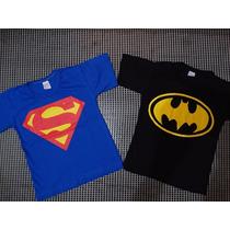 Kit Camisetas De Super Heróis - Festa Infantil E Aniversário