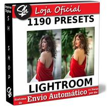 1190 Presets Lightroom - Entrega Em 2 Minutos