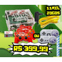 Kit Video Game + 12 Mil Jogos + Filmes + Tv 2 Controles