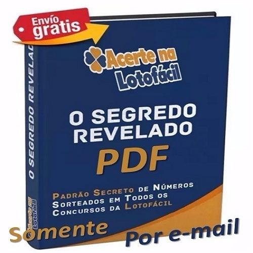 E book Lotofácil Acerte Sempre!