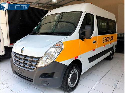 Renault Master L2h2 Escolar 20 Lugares Branco