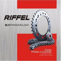 Kit Relação Riffel Yamaha Crypton 115 2010/2013