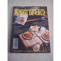 Revista Bordados Em Ponto Cruz Roupas Bebês Camisolas N°23