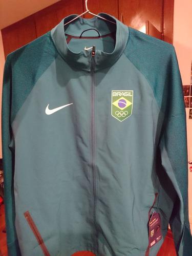 9ee463c467 Jaqueta Brasil Olimpiadas Nike 2016 Rio Olympic Raridade