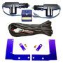 Kit Trava Elétrica Corsa 2 Portas Suportes De Fixação Wind